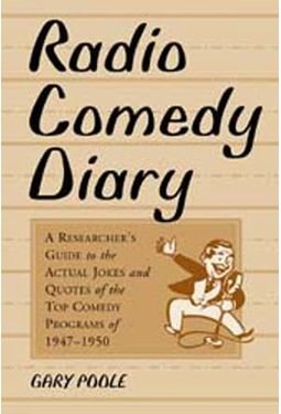 Radio Comedy Diary - A Researcher's Guide To The