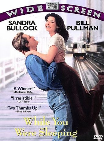 While You Were Sleeping Dvd 1995 Starring Sandra Bullock