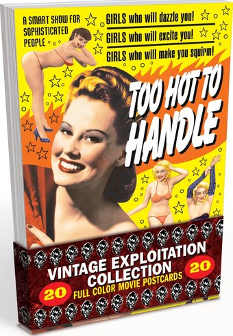 classic exploitation collection 20 full color vintage movie postcards alpha video. Black Bedroom Furniture Sets. Home Design Ideas