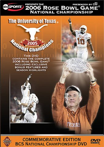 Football - 2006 Rose Bowl - Texas Vs. USC