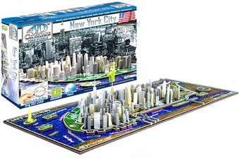 New York - History Over Time 3D Puzzle