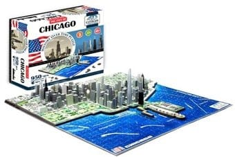 Chicago - History Over Time 3D Puzzle