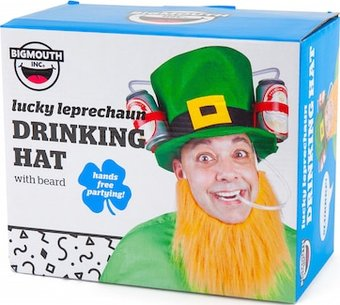 Lucky Leprechaun Drinking Hat