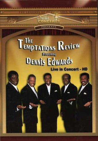 The Temptations Review featuring Dennis Edwards: