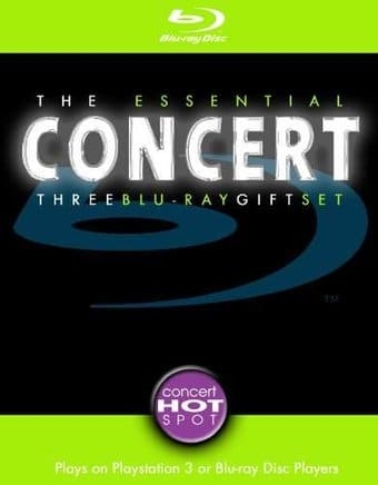 The Essential Concert Three Blu-ray Gift Set