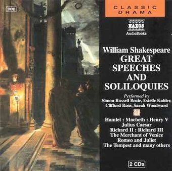 William Shakespeare: Great Speeches And