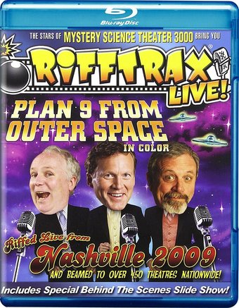 RiffTrax: Plan 9 from Outer Space in Color