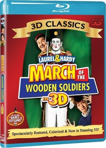 March of the Wooden Soldiers 3D (Blu-ray)