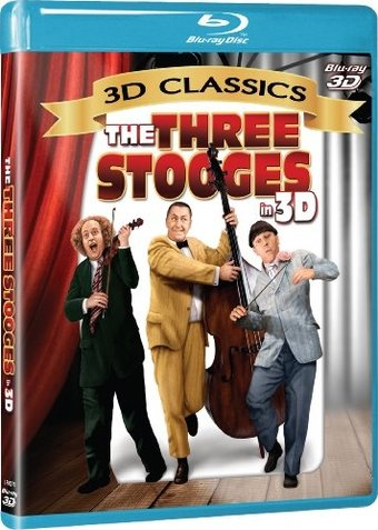 The Three Stooges in 3D (Blu-ray)