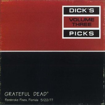 Dick's Picks Volume Three (4-LP Boxset)