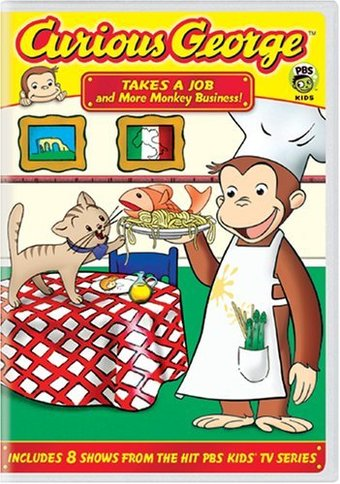 Curious George: Takes a Job and Other Monkey