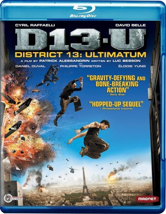 District 13: Ultimatum (Blu-ray)