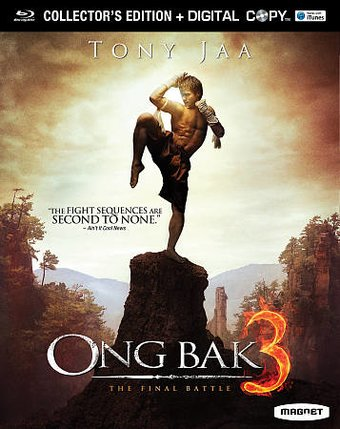 Ong Bak 3 (Blu-ray, Collector's Edition, Includes