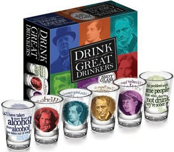 Great Drinkers - 6-Piece Shot Glass Set