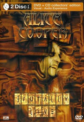 Alice Cooper - Brutally Live (DVD + CD)