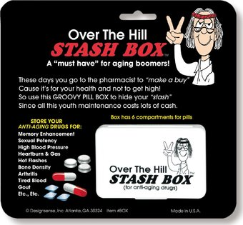 Over The Hill - Stash Box