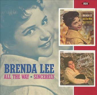 All the Way / Sincerely, Brenda Lee (2-CD)