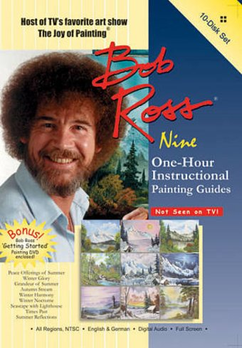 Bob Ross: Nine One-Hour Instructional Guides