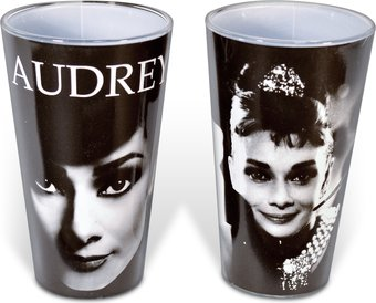 Audrey Hepburn - 2-Piece 16 oz. Pint Glass Set