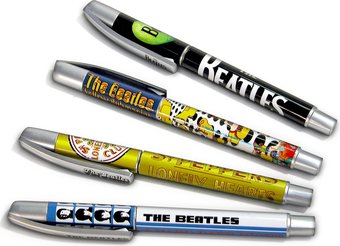 The Beatles Pen Set 4 Pack