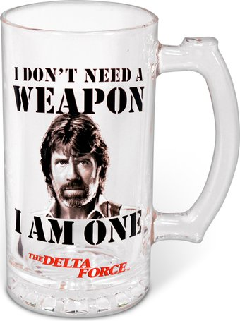 Delta Force - Don't Need a Weapon - 25 oz. Glass