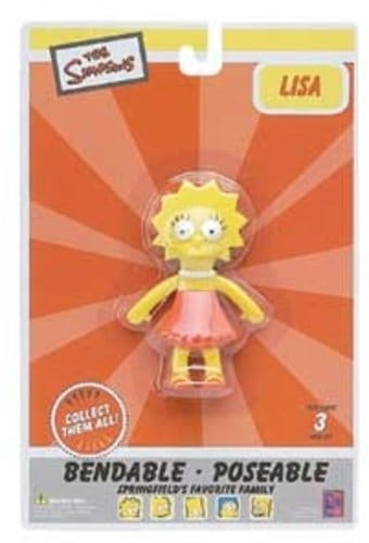 "Lisa 4"" Bendable Figure"