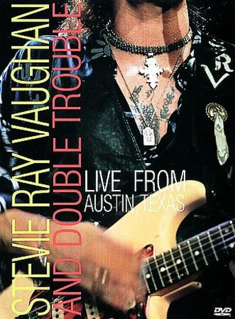 stevie ray vaughan double trouble live from austin texas dvd 1983 starring stevie ray. Black Bedroom Furniture Sets. Home Design Ideas