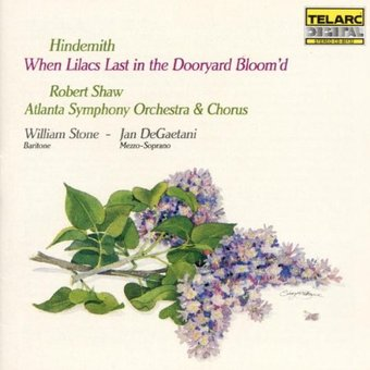 Hindemith: When Lilacs Last In The Dooryard