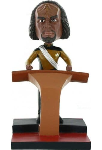 The Next Generation: Worf Deluxe Bobble