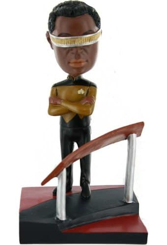 The Next Generation: La Forge Deluxe Bobble Head