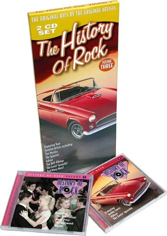 The History of Rock, Volume 3 (2-CD) [Longbox