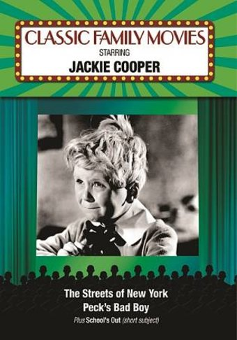 Classic Family Movies Jackie Cooper Collection Dvd R