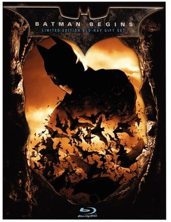 Batman Begins (Blu-ray, Limited Edition Giftset)