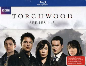 Torchwood - Seasons 1-3 (Blu-ray) [Import]