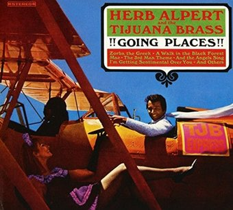 Herb Alpert Going Places Cd 1965 Herb Alpert