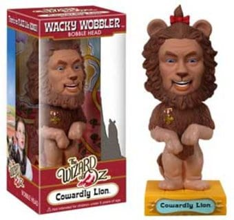 The Wizard of Oz - Cowardly Lion Wacky Wobbler