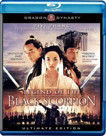 Legend of the Black Scorpion (Blu-ray)