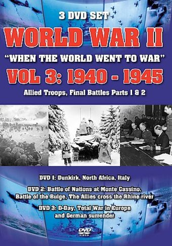World War II, Volume 3 1940-1945 (3-DVD)