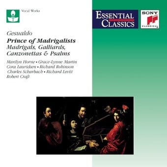 Gesualdo: Madrigals / Galliards / Canzonettas /
