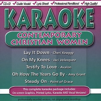 Karaoke Contemporary Christian Women