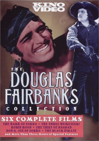 Douglas Fairbanks Collection (The Mark of Zorro /