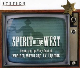 Stetson Spirit of the West (3-CD Box Set)