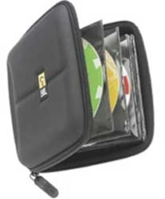 Case Logic Black 24-CD EVA Series Media Wallet