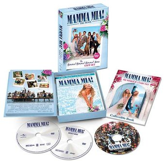 Mamma Mia Widescreen With Cd Soundtrack And
