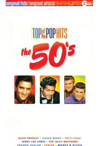 Top of The Pop Hits - The 50s (6-CD Box Set /