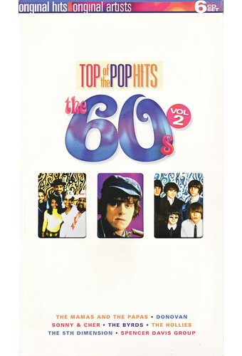 Top Of The Pop Hits The 60s Volume 2 6 Cd Box Set