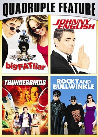 Family Fun Pack Quadruple Feature: Big Fat Liar /