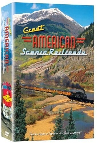 Great American Scenic Railroads - 6 Pack (6-DVD)