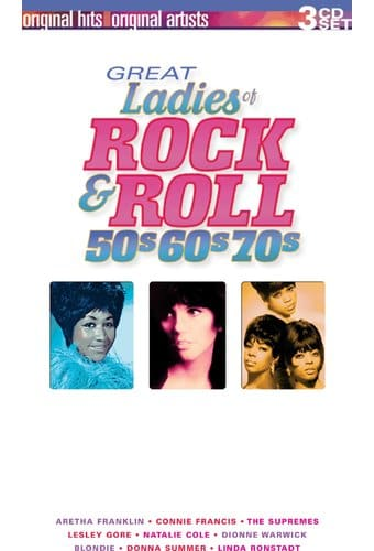 Great Ladies of Rock & Roll - 50s, 60s and 70s