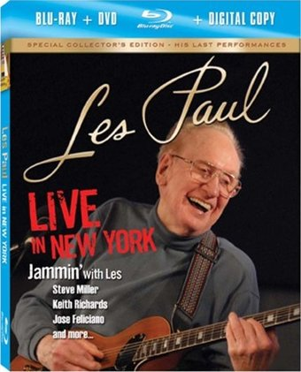 Live in New York (DVD+Blu-ray) (2-Disc)